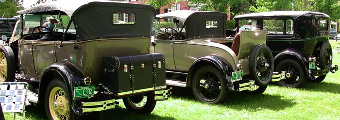 Woodstock Vermont Annual Antique Car Show - Antique car show