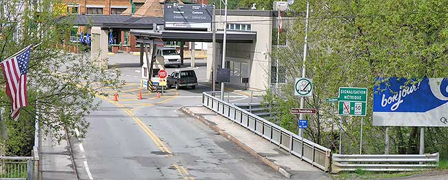 Increase security at Vermont-Canadian border crossings ...