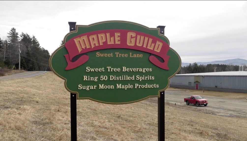 Maple Syrup Factory in Island pond