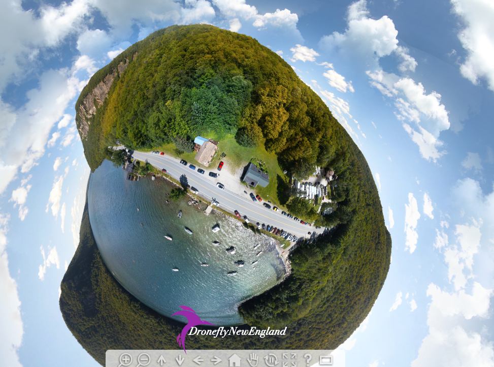 Lake Willoughby little  planet